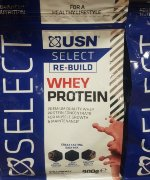 USN SELECT RE-BUILD WHEY PROTEIN, 900 г, Сывороточный протеин