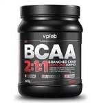 VP Laboratory BCAA 2:1:1, 500 г, Аминокислоты BCAA