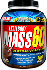Lean Body Mass 60 Gainer 6lb