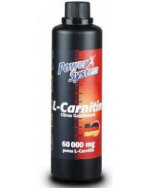 Power System L-Carnitine 60000 mg, 500 мл, L-carnitine