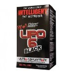 Nutrex Lipo-6 Black Ultra Concentrate, 60 капс, Жиросжигатели