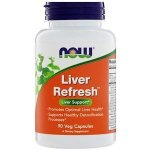 NOW Liver Refresh, 90 капс, Препараты для поддержки печени
