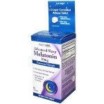 Natrol Advanced Sleep Melatonin 10 мг, 60 таб, Мелатонин