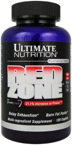 Ultimate Nutrition Red Zone, 120 капс, Жиросжигатели