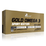 OLIMP Gold Omega 3 Sport Edition, 120 капс, Омега жиры