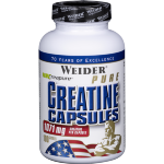 Weider Pure Creatine Сapsules, 200 капс, Моногидрат креатина