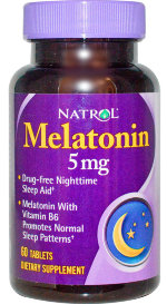 Melatonin 5 mg 60 таб