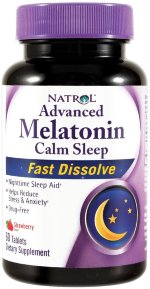 Natrol Melatonin Advanced Calm Sleep 6 мг, 60 таб, Мелатонин