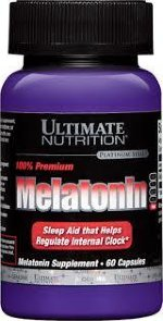 Ultimate Nutrition Melatonin, 60 капс, Мелатонин