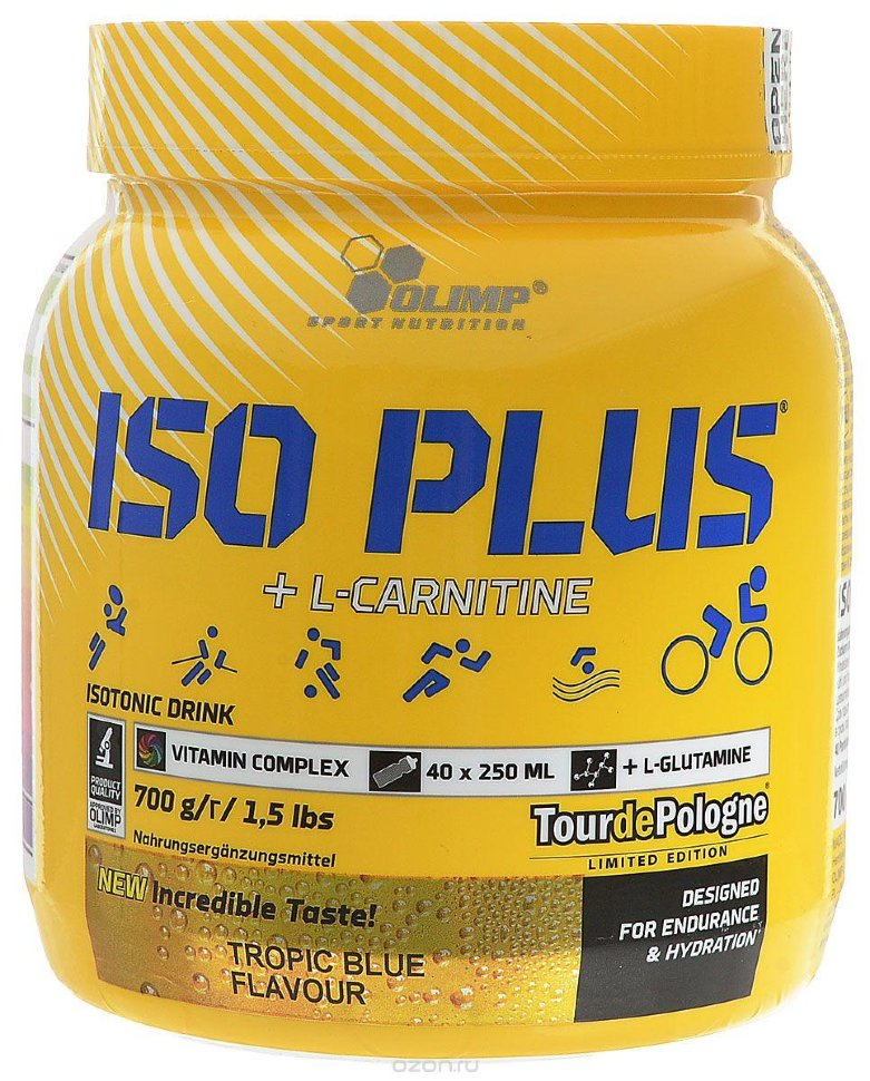 ISO PLUS Powder + L-Carnitine