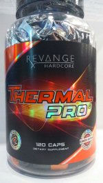 Revange Nutrition Thermal PRO Hardcore LTD, 120 капс, Жиросжигатели