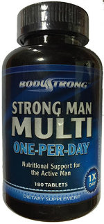 Strong Man Multi One-Per-Day 180 таб