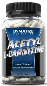 Dymatize ACETYL L-CARNITINE  500 мг., 90 капс, L-carnitine