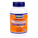 NOW Melatonin 5 mg 60 капс, Мелатонин