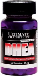 Ultimate Nutrition DHEA 25 mg 100 капс