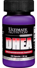Ultimate Nutrition DHEA 50 mg 100 капс